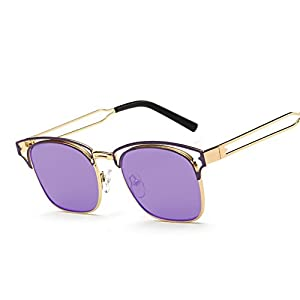 Sinkfish SG80033 Gift Sunglasses for Women,Anti-UV & Fashion - UV400 (Orchid)