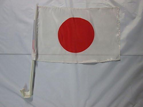 Indian Car flags 30 x 45cm AZ FLAG India Car Flag 18 x 12 Banner 18x12 INCHES PLASTIC STICK