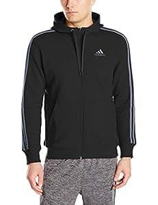 Adidas Essential Heavyweight Pullover Hoodie Men's Medium (Black/Onix)