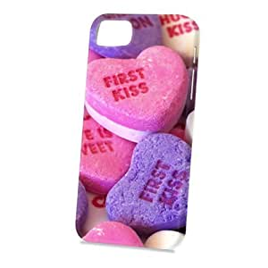 Case Fun Apple iPhone 5 / 5S Case - Vogue Version - 3D Full Wrap - First Kiss Sweets