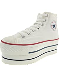 Maxstar High-top Double Platform Canvas Sneakers Shoes