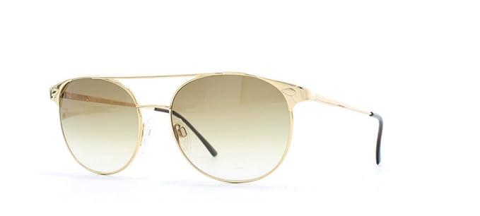 bab25f34b2 Gucci 1222 013 Gold Authentic Men - Women Vintage Sunglasses  Amazon ...