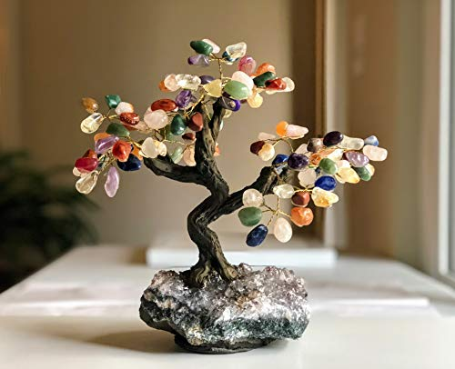 (Agathas International, Inc. Brazilian Gemstone Tree w/Amethyst Base, 7