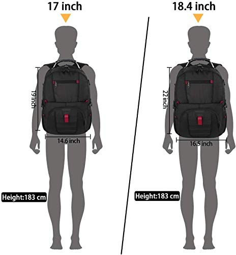 Backpacks for Men, Extra Large Travel Laptop Backpack Gifts for Women Men with USB Charging Port,TSA Friendly Business… 6
