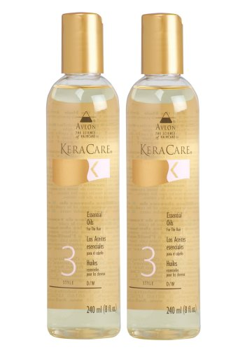 Keracare Essentials Oils for the Hair – SET of 2 8 Oz Each by Avlon