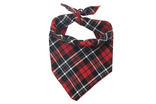 Winter Wonderland Flannels - Willowear Dog Bandanas Dashing Large
