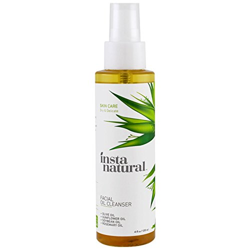 InstaNatural, Facial Oil Cleanser, 4 fl oz (120 ml) - 3PC by
