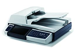 Visioneer NetScan 4000 Duplex Flatbed Color Network Scanner with ADF Fax 600 DPI and LCD Touch Screen (VNS-4000U)