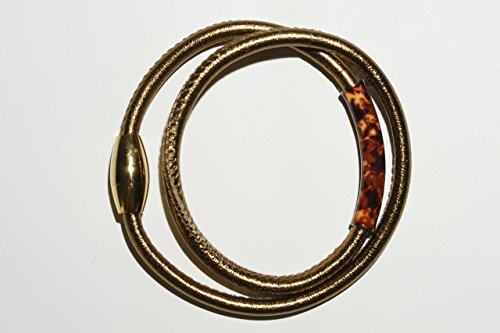 (Bronze Leather Bracelet, 7