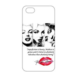 CCCM marilyn monroe quotes 3D Phone Case for Iphone ipod touch4