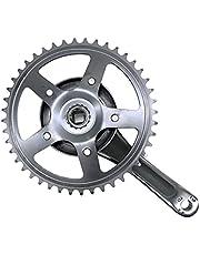 44T 170mm Single Speed Bicycle Crankset Road Bike Folding Bike Aluminium Legering Vaste Gear Tandwiel Cruisers Chainwheel Accessorie