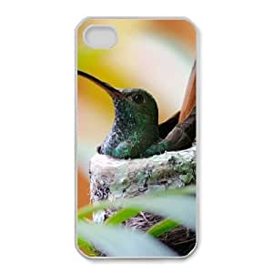 iphone4 4s phone cases White Hummingbird fashion cell phone cases JYTR4099637