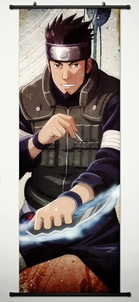 Asuma Sarutobi Cosplay Costumes - Wall Scroll Poster Fabric Painting For