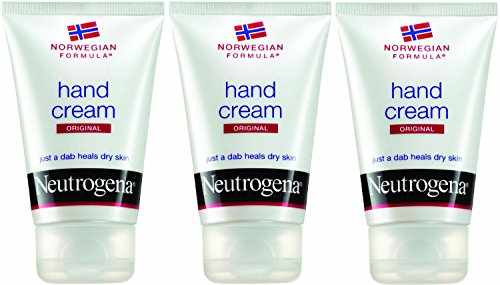 Neutrogena Norwegian Formula Hand Cream for Dry Chapped Hands, 2 Ounce (Pack of 3) by Neutrogena