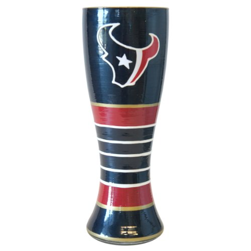 NFL Houston Texans Artisan Pilsner Glass, 23-ounce (Artisan Gifts)