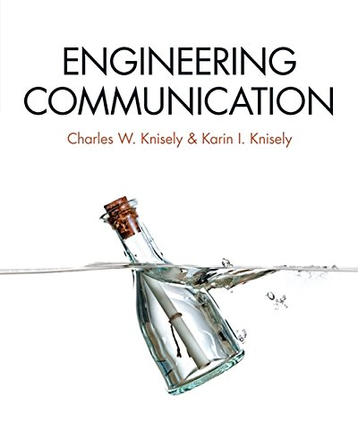 Engineering Communication (MindTap Course List)