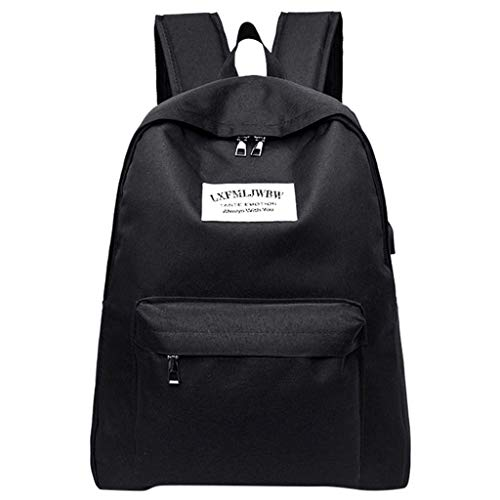 Hot sales NRUTUP Male and Female Student Bag Portable Charging Canvas Computer Bag Travel Bag (Keen Tote Bag)