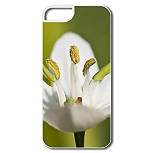 Favorable White Flower Macro Case For IPhone 5/5s