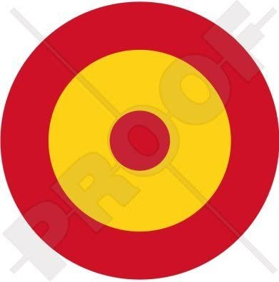 ESPAÑA Fuerza Aérea Española Avión Medallón 100mm (4