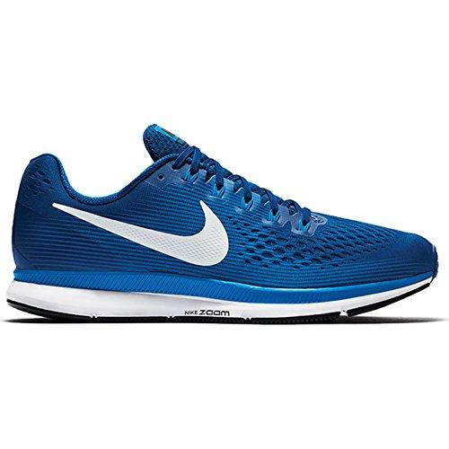 Nike Herren Lucht Zoom Pegasus 34 Laufschuhe, Blau (obsidian / Wit-neutraal Indigo-blauw Recall) Gym Blauw / Zeil / Blauwe Nevel