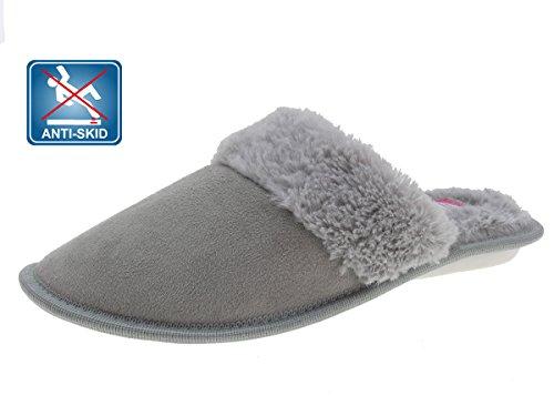 Beppi Mocassini da donna pantofole grigio