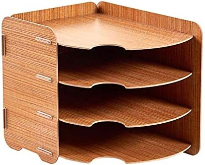 Multi-Layer File Storage Mail Finishing Rack Basket Magazine A4 Document Desktop File Storage Rack Tray Holder OrganiserWooden Material / Multi-Layer File Storage Mail Finishing Rack Basket Magazine A4 Document Desktop File Storage...