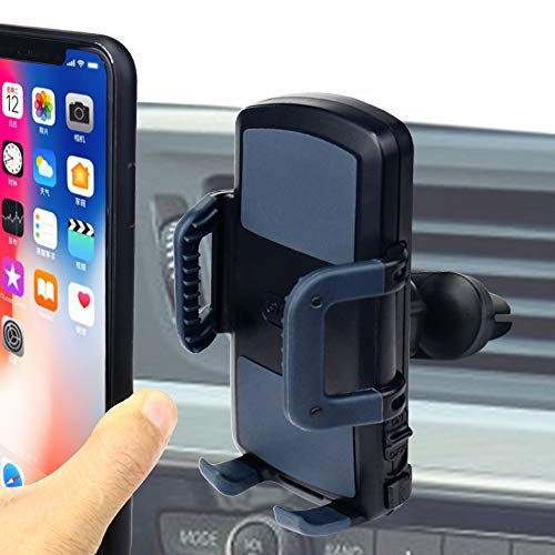 (Universal Phone Holder Car Air Vent Mount,OHLPRO Smartphone Cradle for iPhone Xs Max R 8 Plus 7 Samsung Galaxy S10 E S9 S8 Plus Edge Note 9 & Other Phones)