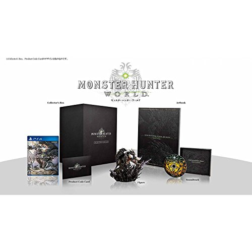 MONSTER HUNTER WORLD [COLLECTOR'S EDITION] ( ENGLISH, JAPANESE, FRENCH, ITALIAN, GERMAN, SPANISH, CHINESE & KOREAN SUBS ) for PlayStation 4 [PS4]
