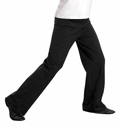Boys Jazz Pants,B191BLKL,Black,Large