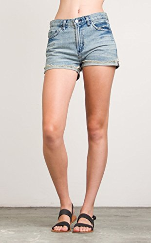 RVCA Women's Wanderist Denim Shorts Dirty Indigo - Rvca Sunglasses