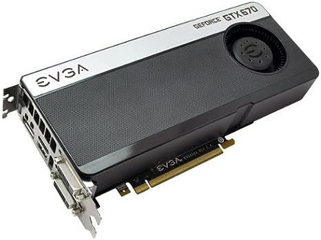Amazon.com: EVGA GeForce GTX670 2048 MB, GDDR5, 256 Bit, 2 X ...