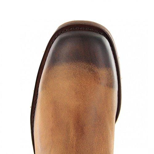 Sendra Boots 3162, Stivali western unisex adulto Frisco Teak