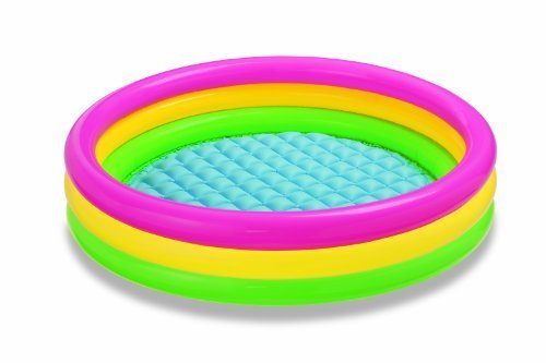 Game/Play Intex Kiddie Pool - Kid's Summer Sunset Glow Design Kid/Child by Toys-n-Games