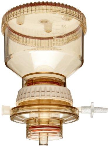 Nalgene DS0320-5045 Polysulfone Reusable Bottletop Filter Holder, 500mL Capacity, Fits 45mm Neck by Nalgene