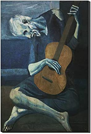 Pinturas Al óleo Sobre Lienzo El Viejo Guitarrista De Pablo ...