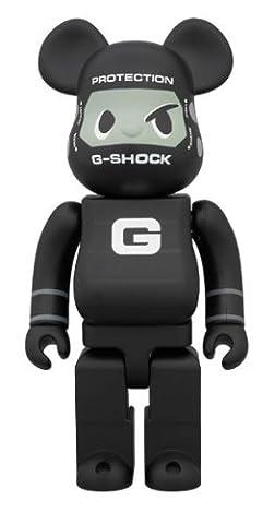 BE @ RBRICK bare brick G-SHOCK BLACK 400% Casio (The Hundreds G Shock)