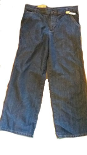 (Faded Glory Boy's Carpenter Denim with Adjustable Waist (14 Husky, Medium Wash))