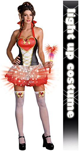 Queen of Heartbreakers Costume - Small - Dress Size 2-6 -