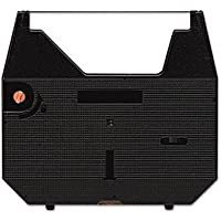 Package of Two Brother WP-3400, WP-3410, WP-3550 and Others Typewriter Ribbon, Correctable, Compatible (Black)
