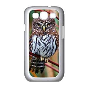 [Owl Series] Samsung Galaxy S3 Cases Baby Owl, Dustin - White