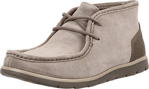 UGG Men's Hendrickson Dark Fawn Boot 10.5 D (M) (Leather Boot Fine Flat)