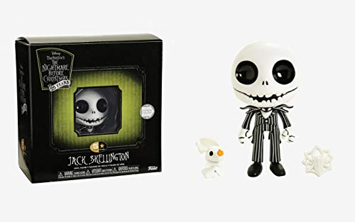 (Funko 5 Star: Nightmare Before Christmas - Jack Skellington with Zero Collectible Figure, Multicolor)