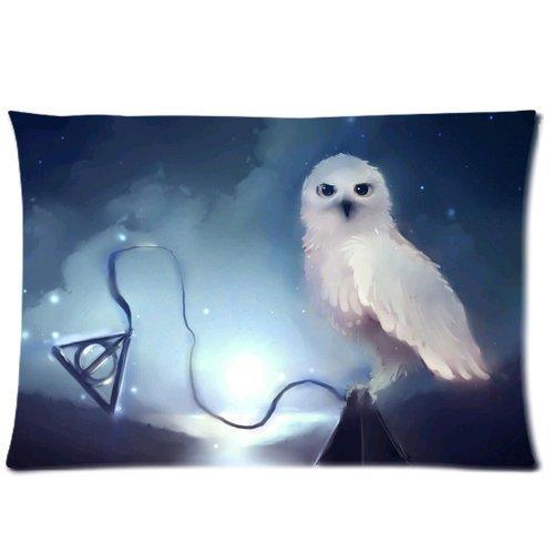 teentop Harry Potter Hedwig Funda de Almohada con Cremallera ...