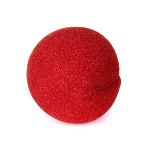 Fenteer 10個入り ピエロの鼻 泡 フォーム 赤 仮装  パーティー 変装小道具 ハロウェン パーティー アクセサリー