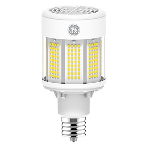 GE 22611 ED37 LED Lamp, Clear, 4000K (Daylight White), Mogul Base, 70 CRI, DLC, UL, 50,000 Year Lifespan Bulb Ed37 Mogul Base