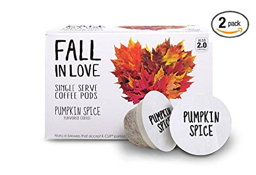 Fall In Love Single Serve Coffee Pods - Pumpkin Spice (2 - Mall Falls Stores