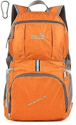 Outlander Packable Handy Lightweight Travel Hiking Backpack