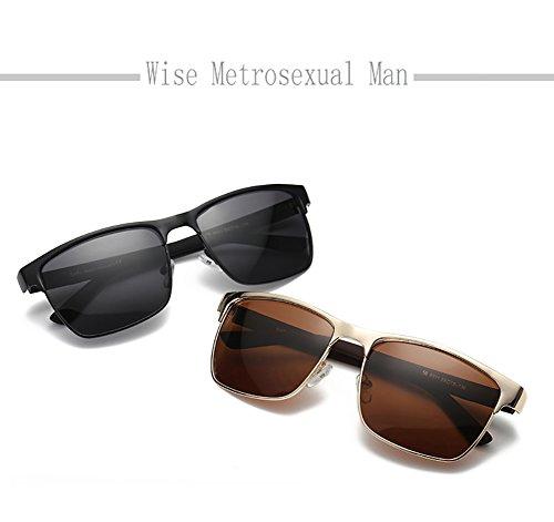 Gafas Polarizadas para C2 Hombre Sol 400 para C1 De UV Mujer Protección Aviator EfqrfwI