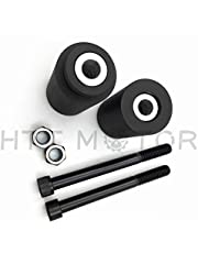 HTTMT MT219-032- Frame Slider Crash Protector Compatible with 1996-2003 Kawasaki Zx-7R Zx7R Zx 7R Black