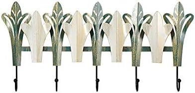 壁掛け式 コートフック,クリエイティブ 鍵 フック リビングルーム 装飾 コートラック モダン ミニマリスト き閉ざし 玄関 ポールハンガー みどり 59cm